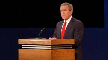 Debate George Bush